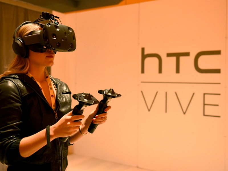 HTV Vive Virtual Reality